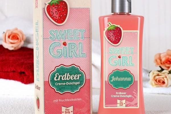 Duschgel für Mädchen mit Erdbeer-Duft