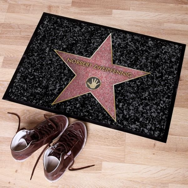 Walk of Fame Stern Fußmatte