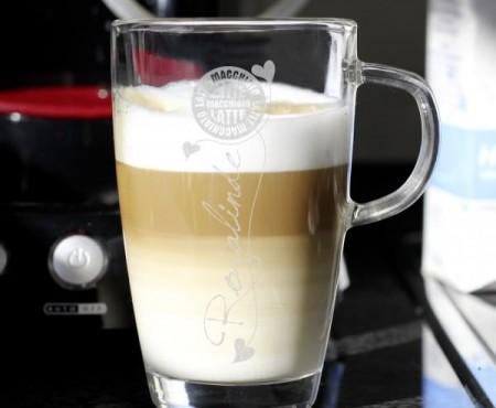 Latte Macchiato mit Wunschgravur