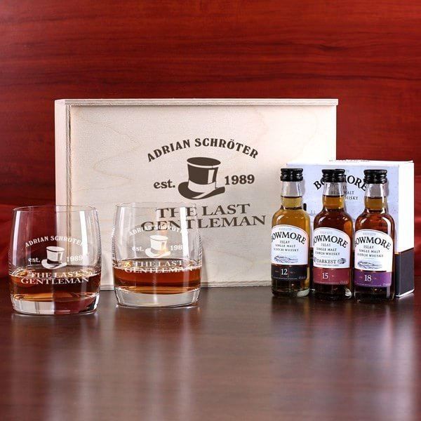 Whiskeyset für den Gentleman
