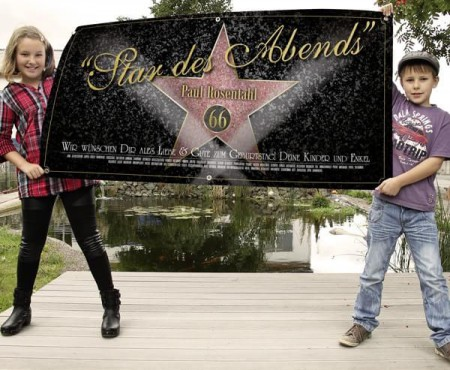 Star des Abends – XXL Banner